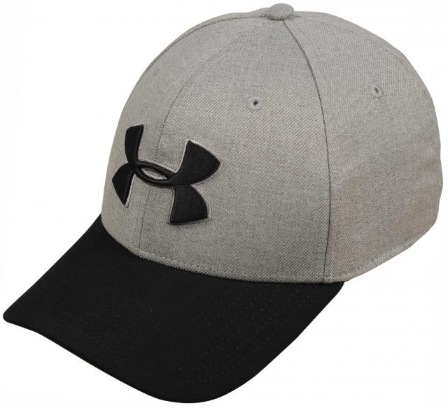 Under Armour Closer Hat - True Grey Heather / Graphite / Black