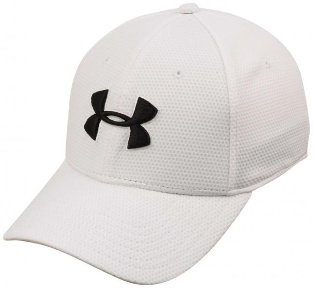Under Armour Blitzing Hat - White / Black