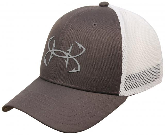 Under Armour Fish Hunter Hat - Charcoal / White / Steel