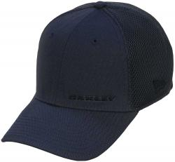 Zoom for Oakley Silicon Bark Hat - Sheet Metal / Black