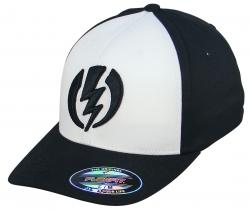 Electric Volt II Hat - Black / White / Black