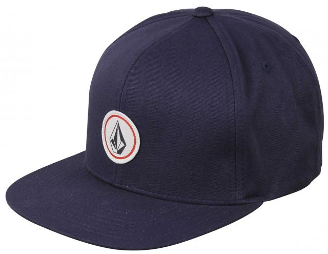 5d6aac13358 Volcom Quarter Twill Snapback Hat - Smokey Blue For Sale at Surfboards.com  (1834143)