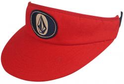 Zoom for Volcom Visor Hat - Red