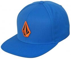 Volcom Stone Snap Back Hat - Airforce Blue