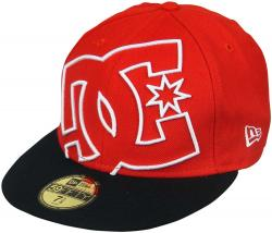 DC Coverage Hat - Red / Black / White