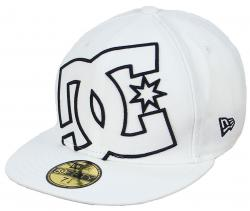 DC Coverage II Hat - White / Black