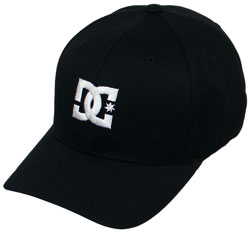 DC Cap Star Hat - Black