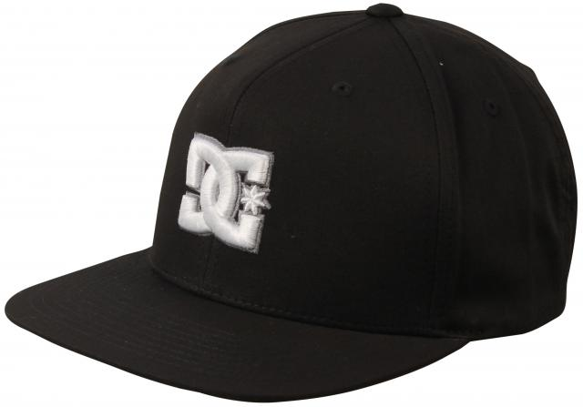 DC Snappy Hat - Black / White