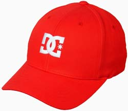 DC Cap Star Hat - Red