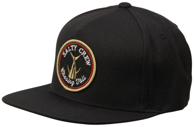Salty Crew Tails Up Hat - Black