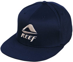 Reef Half Stacked Hat - Navy