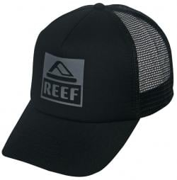 Reef Vintage Block Trucker Hat - Black