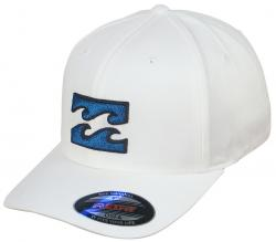 Billabong All Day X-Fit Hat - White / Blue