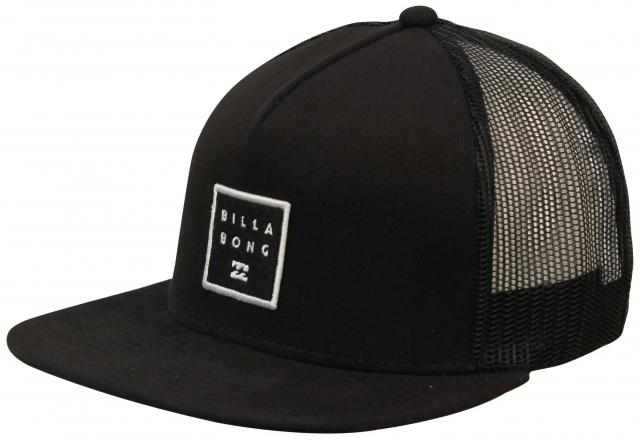 0cee2212c5d Billabong Stacked Trucker Hat - Black For Sale at Surfboards.com (1844367)