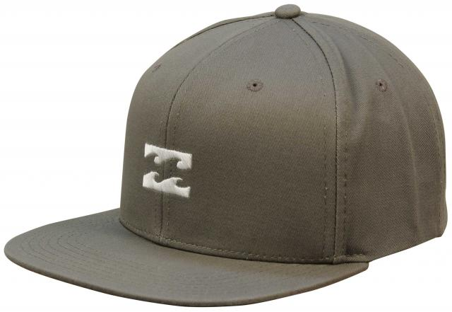 Billabong All Day Snapback Hat - Light Military