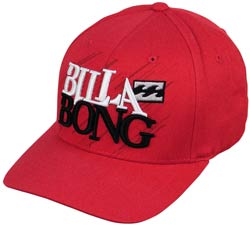 Billabong Preparation X-Fit Hat - Red