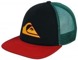 Quiksilver Good Times Trucker Hat - Rasta