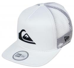 Quiksilver Lockit Trucker Hat - White