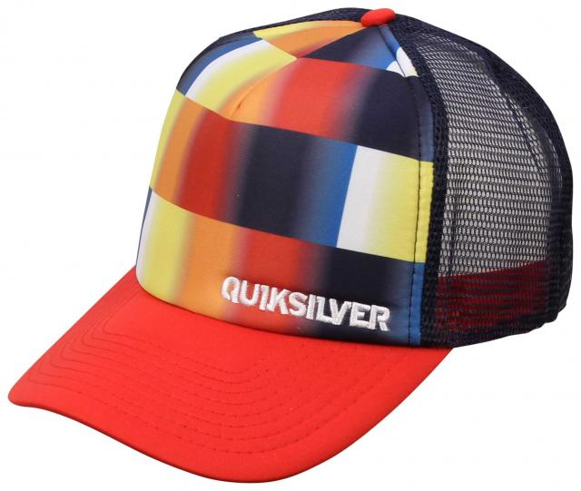 Quiksilver Boards Trucker Hat - Chili Pepper Red