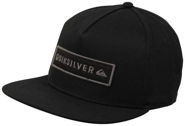 2fd4bf7587a Quiksilver Simplay Snapback Hat - Black For Sale at Surfboards.com (1847533)