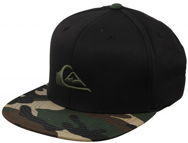 Quiksilver Stuckles Hat - Oldy Black