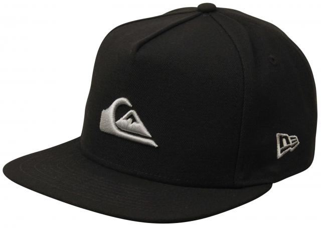 Quiksilver Stuckles Hat - Classic Black / Silver