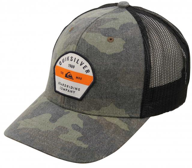 Quiksilver Silver Lining Trucker Hat - Camo