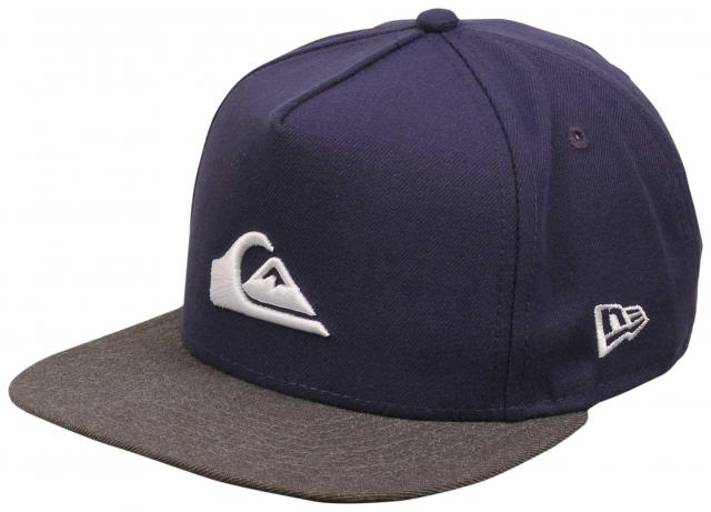 Quiksilver Stuckles Snapback Hat - Navy Blazer   White For Sale at  Surfboards.com (1847642) 11bbd07eb872