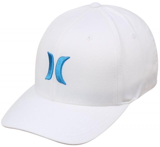 Hurley One and Only Hat - White / Cyan
