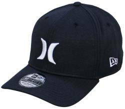 Hurley One and Only New Era Hat - Black / White