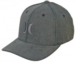 Hurley One and Textures Hat - Cinder
