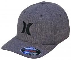 Hurley One and Textures Hat - Black and Pewter