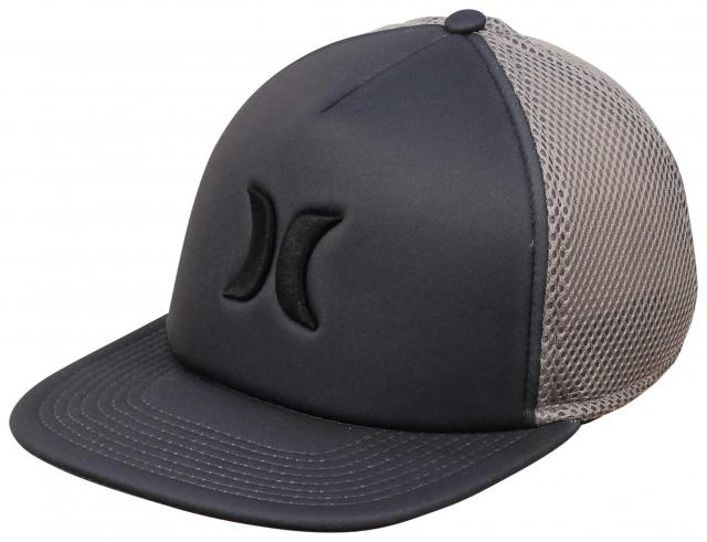 Hurley Blocked Foam Trucker Hat - Dark Grey