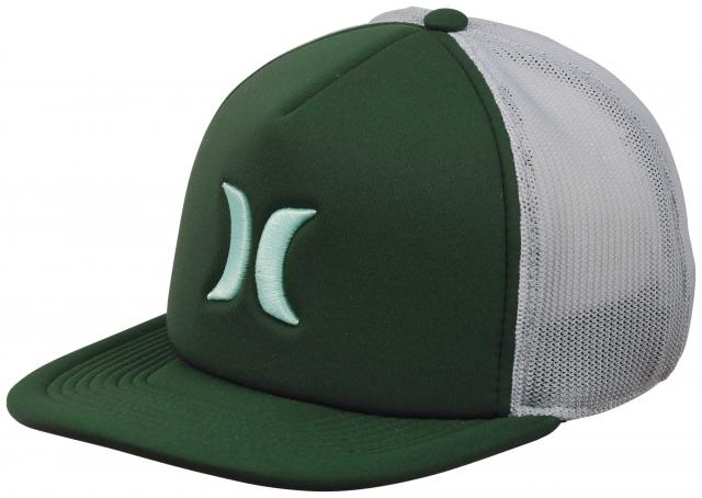 Hurley Blocked 3.0 Trucker Hat - Dark Atomic Teal