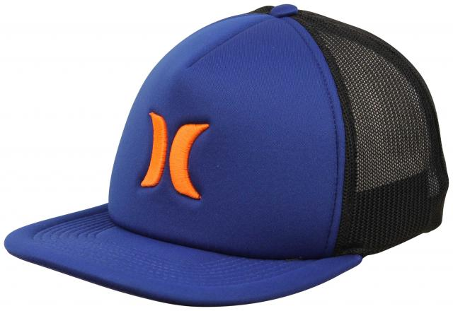 Hurley Blocked 3.0 Trucker Hat - Gym Blue