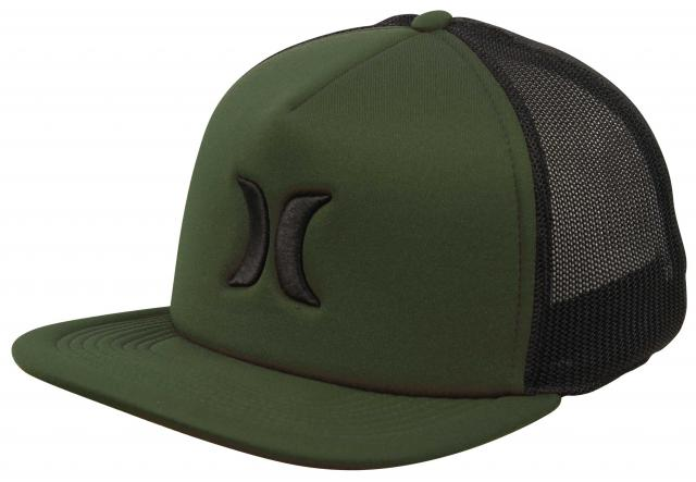 Hurley Blocked 3.0 Trucker Hat - Faded Olive
