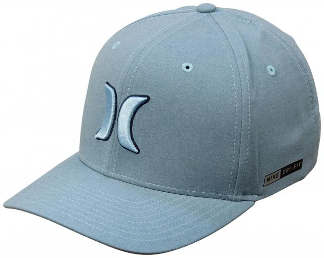 Hurley Dri-Fit Heather Hat - Cerulean