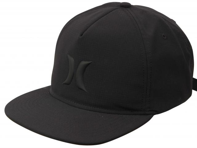 Hurley Icon Hybrid Hat - Black / Black