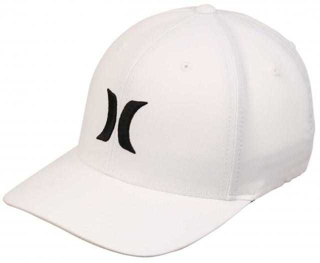 Hurley Dri-Fit One and Only Hat - Classic White / Black