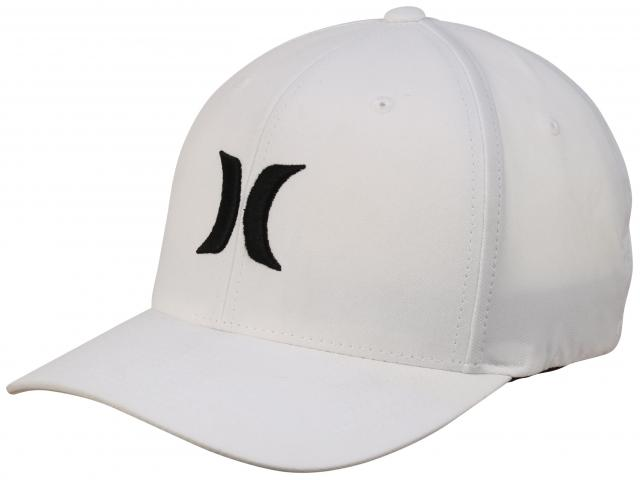 Hurley Dri-Fit One and Only Hat - White / Black