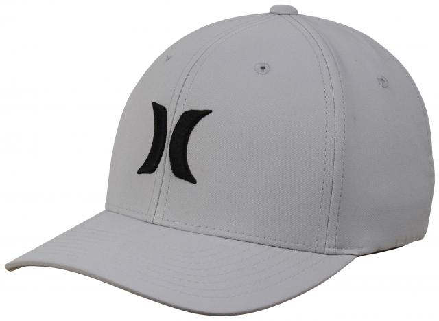 Hurley Dri-Fit One and Only Hat - Wolf Grey   Black - New  729fd57ca24a