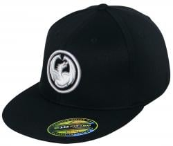 Dragon Icon 210 Classic Hat - Black / White