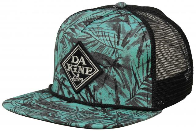 62952d0ad0726 DaKine Classic Diamond Trucker Hat - Painted Palm For Sale at  Surfboards.com (187387)