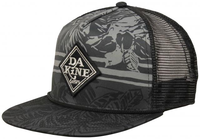 9dfdb927a82f8 DaKine Classic Diamond Trucker Hat - Black Tropical - New