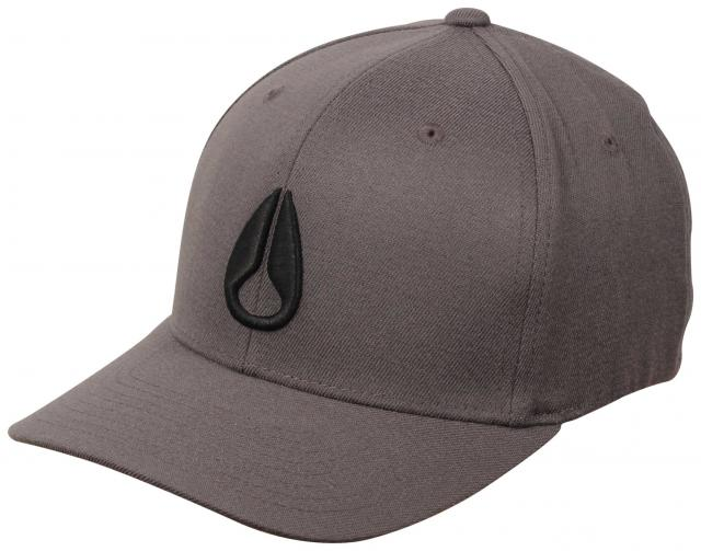 Nixon Deep Down Hat - Charcoal / Black