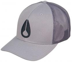 Zoom for Nixon Iconed Trucker Hat - Grey