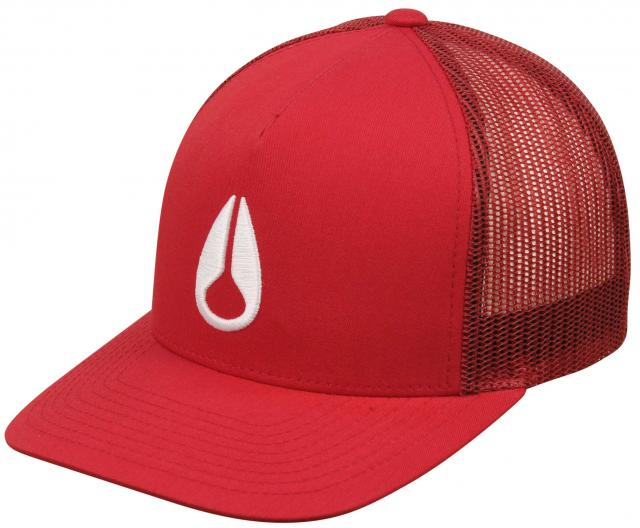 a57e8097 Nixon Iconed Trucker Hat - Dark Red / White For Sale at Surfboards.com  (189567)