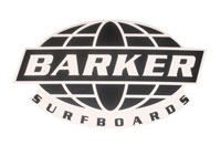 Barker Globe Sticker - Large