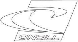 O'Neill Surf Icon Sticker - White