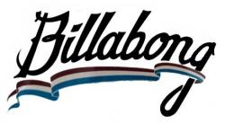 Billabong Allegiance Sticker - Red / Blue